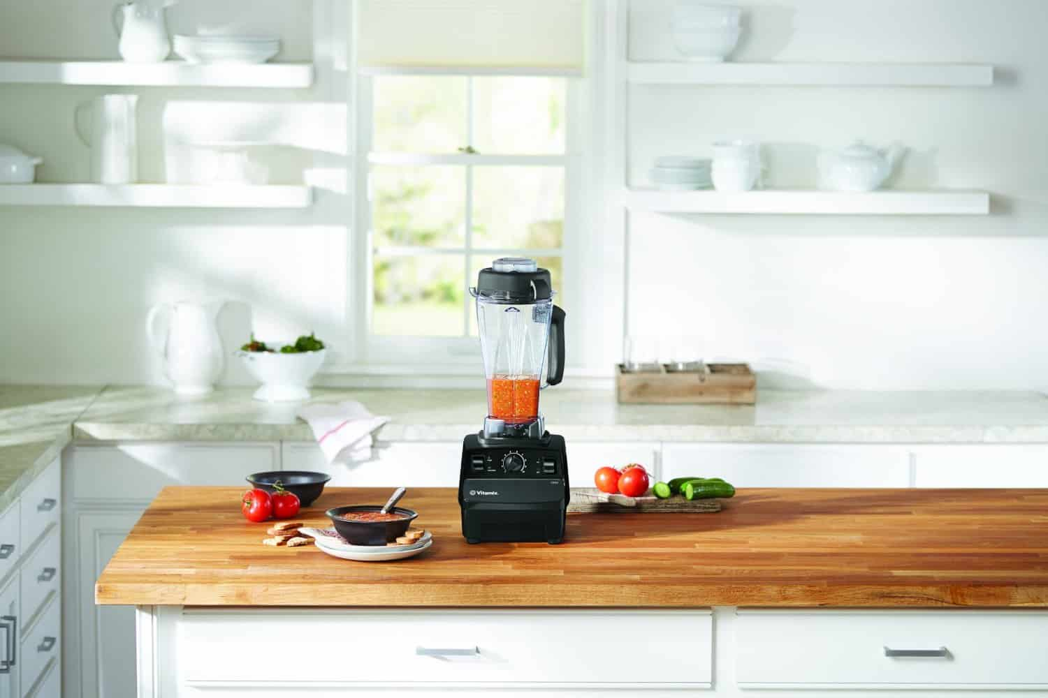 Vitamix 5200 on kitchen countertop