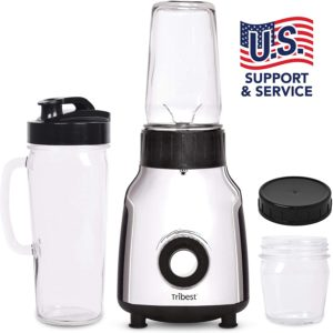 Pribest Personal Glass Blender and Vacuum Glass blender